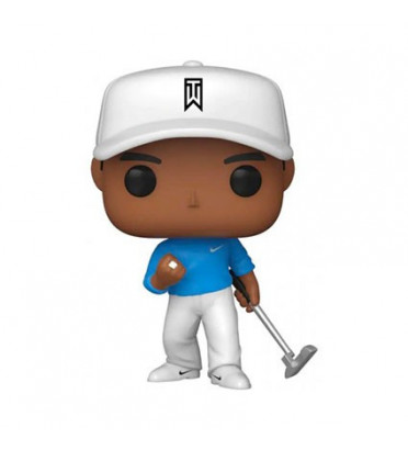 TIGER WOODS BLUE SHIRT / TIGER WOODS / FIGURINE FUNKO POP / EXCLUSIVE SPECIAL EDITION