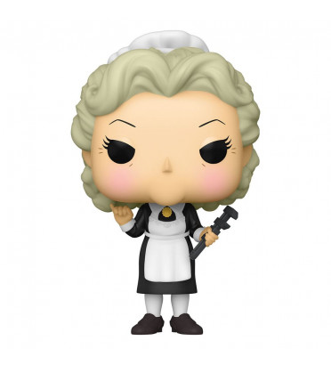 MRS WHITE WITH THE WRENCH / CLUEDO / FIGURINE FUNKO POP