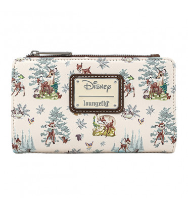 PORTEFEUILLE BAMBI SCENES / BAMBI / LOUNGEFLY