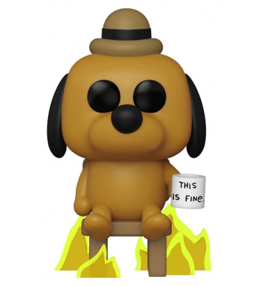 THIS IS FINE DOG / THIS IS FINE / FIGURINE FUNKO POP / EXCLUSIVE SPECIAL EDITION