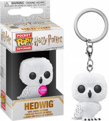 HEDWIG / HARRY POTTER / FUNKO POCKET POP / FLOCKED