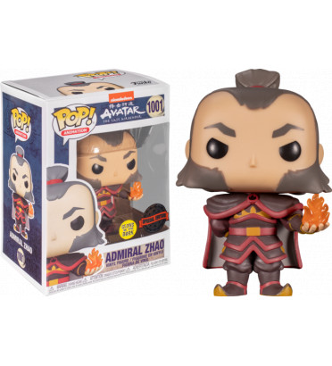 ADMIRAL ZHAO / AVATAR NICKOLODEON / FIGURINE FUNKO POP / EXCLUSIVE SPECIAL EDITION / GITD