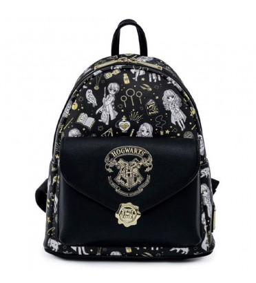 MINI SAC A DOS MAGICAL ELEMENTS / HARRY POTTER / LOUNGEFLY