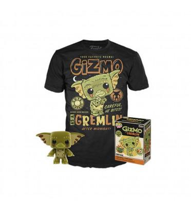 T-SHIRT S + POP GIZMO / GREMLINS / FIGURINE FUNKO POP