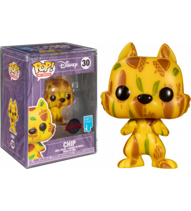 CHIP ARTIST SERIES WITH CASE PROTECTOR / TIC ET TAC / FIGURINE FUNKO POP / EXCLUSIVE SPECIAL EDITION