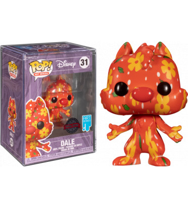 DALE ARTIST SERIES WITH CASE PROTECTOR / TIC ET TAC / FIGURINE FUNKO POP / EXCLUSIVE SPECIAL EDITION