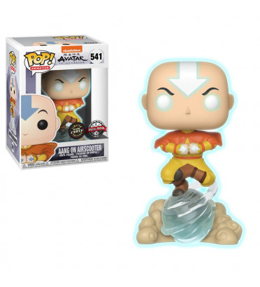 AANG ON AIRSCOOTER / AVATAR NICKELODEON / FIGURINE FUNKO POP / CHASE